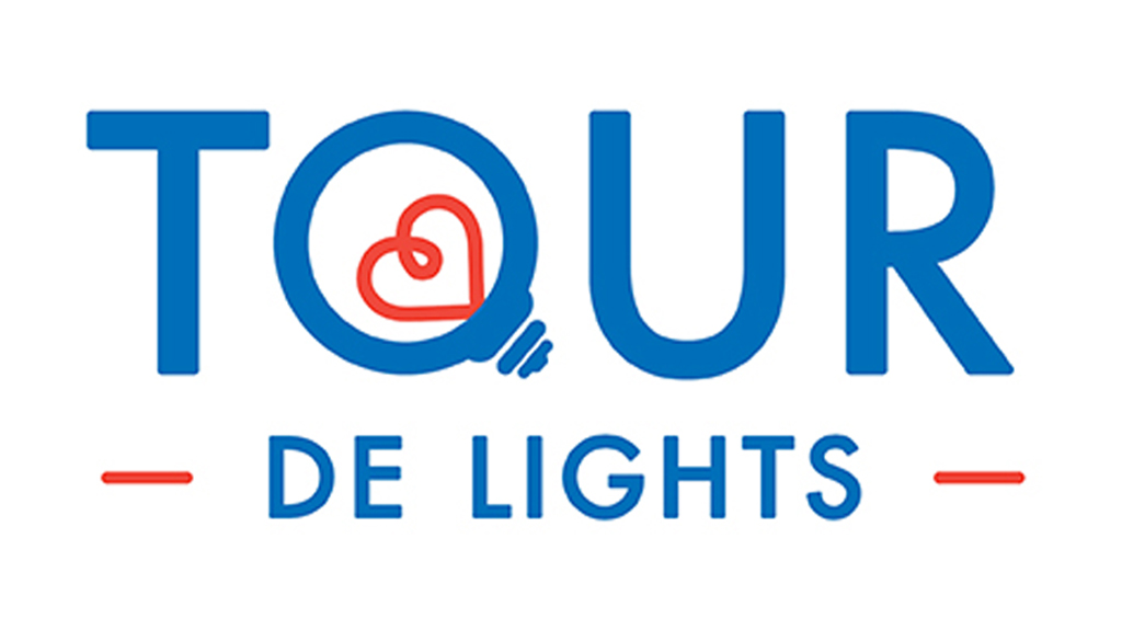 tour de lights event