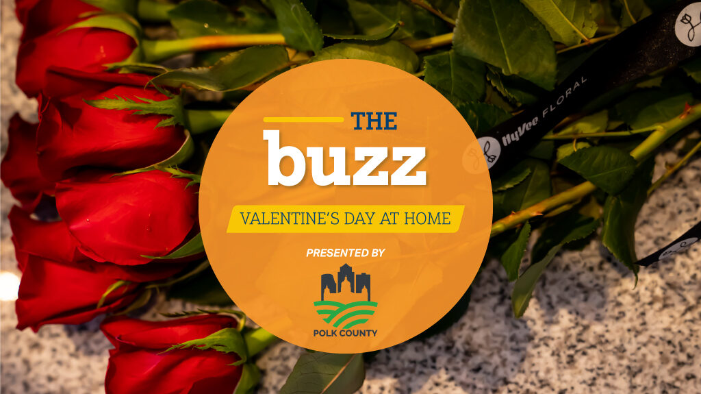 """the buzz"""" valentine's day at home"""