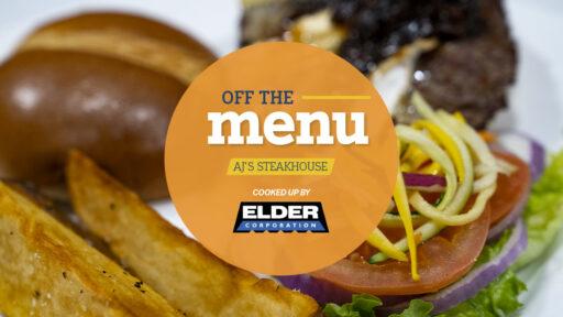 off the menu aj's steakhouse